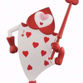 撲克兵 撲克人 愛麗絲 公仔 玩具 轉蛋 扭蛋 盒玩