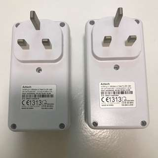 Aztech Homeplug Ethernet Adapter