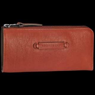Longchamp Zip Around Wallet