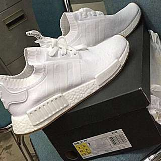 "NEW 💯 % Authentic Adidas NMD R1 PK ""White Gum"""