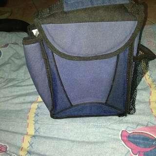 Dark Blue Lunch Bag
