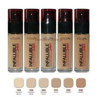 Foundie L'oreal infallible