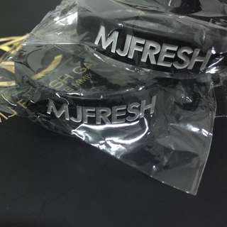 MJFRESH LOGO 手環