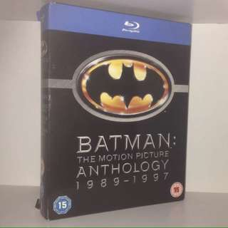 BATMAN: The Motion Picture Anthology Blu-ray (4-Film collection)