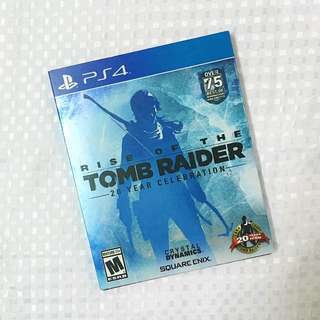 PS4 Rise of the Tomb Raider (Steelbook)