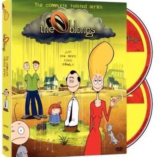 THE OBLONGS: Complete Twisted Series DVD (Rare TV Series) OOP | Region 1 | Animation