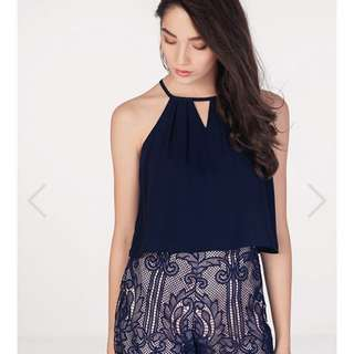 Kinfolk Top In Navy S
