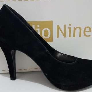Black Suede High Heels - Brand Studio One
