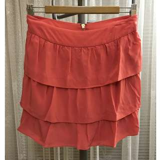 Forever New Coral skirt size 8