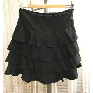 Forever New black skirt size 8