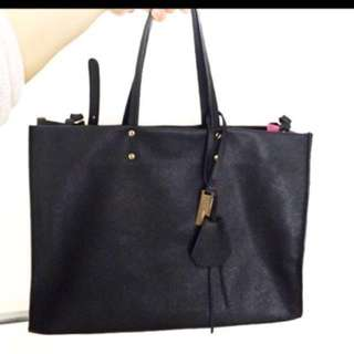 Italian Leather Tote By Rabeanco