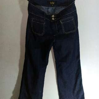 Kamiseta Dark Blue Flared Jeans