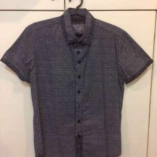 Bench Polo Black Short Sleeves