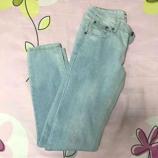 New Future Light Blue Skinny Jeans