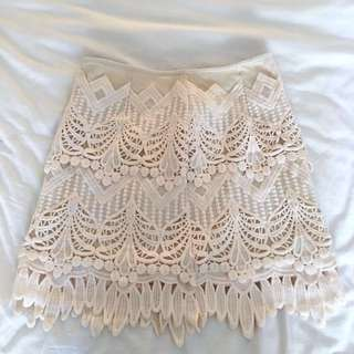 Lace F21 Pencil Skirt
