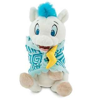 "Disney Hercules Pegasus Blanket Baby Babies Plush Doll Toy 10"" NEW"