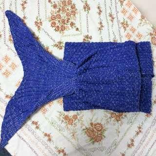 Mermaid Tail Blanket Purple Adult Size