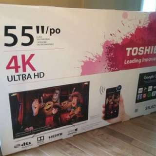 "55"" Toshiba 4K Ultra HD"