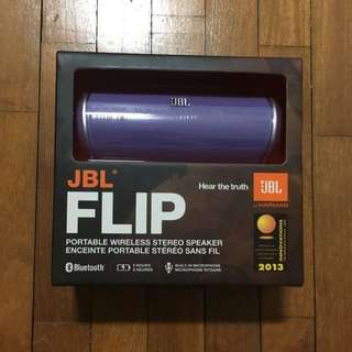 JBL flip portable bluetooth speaker