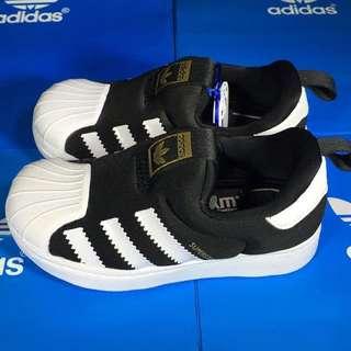PO Adidas Superstar 360 Slip On Kids Children Size 10325699a5c