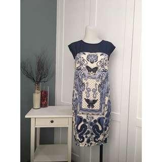 Guess blue dress