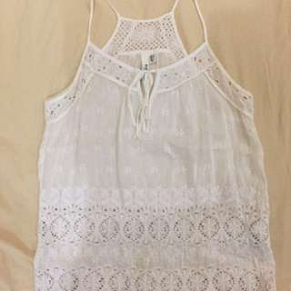 Ever New Embroidered White Top