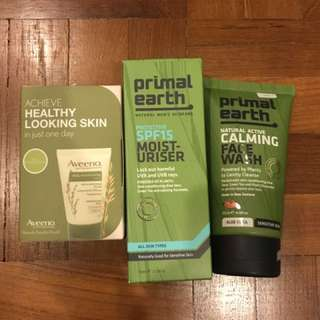 (WTS) Primal Earth + Aveeno products
