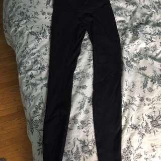 lulu lemon leggings black