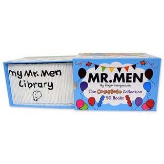Mr Men 50 Books Brand New Set