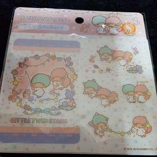 Sanrio Little Twin Stars DIY Ez-link Card stickers