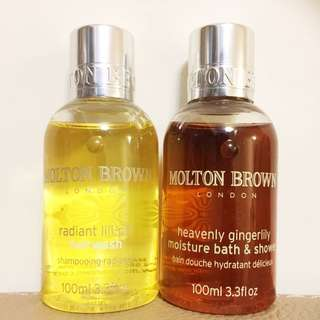 Molton Brown Hair Wash And Shower Gel