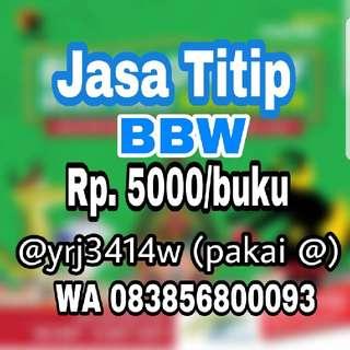 Jasa Titip BBW