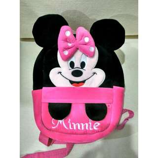 Brand New Minnie Mouse Pink Toddler Backpack RM20