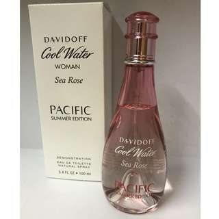 Tester bottle Davidoff Coolwater Sea Rose 100ml EDT [Women's fragrance/perfume]