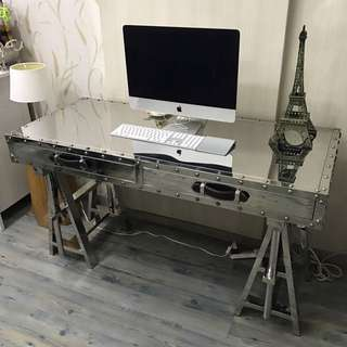 Aviator Table - Stainless Steel