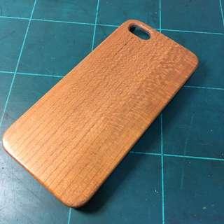 iPhone 5 5s se 實木保護殼
