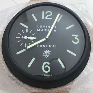Panerai Wall Clock (Black)