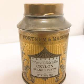 FORTNUM & MASON Ceylon Orange Peoke Loose Leaf Tea Tin 125g 錫蘭紅茶