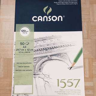 Buku gambar Canson A3 120g/m2