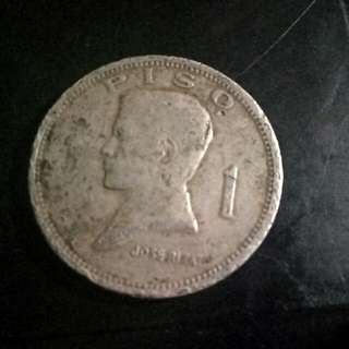 1972 One Peso Coin