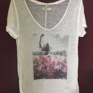 Abercrombie & fitch surfing girl T-shirt 短袖