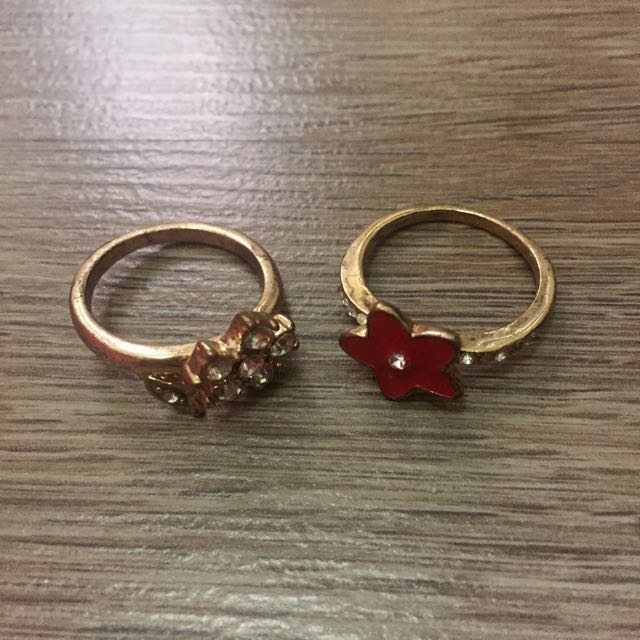 2pcs Gold Ring