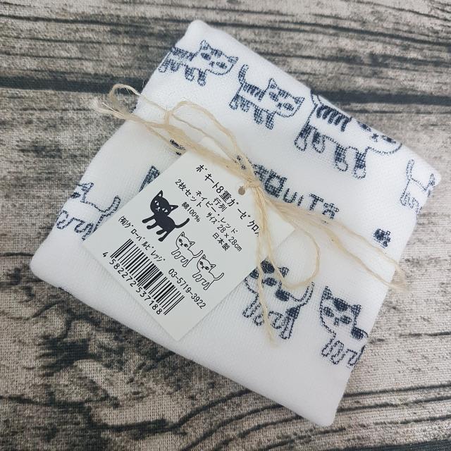 日本購入八重紗紗布巾