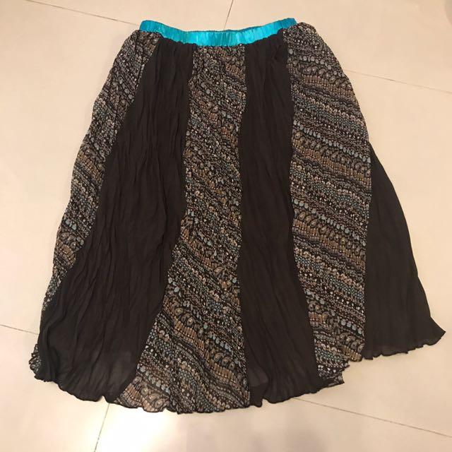 峇里島民宿風皺褶裙