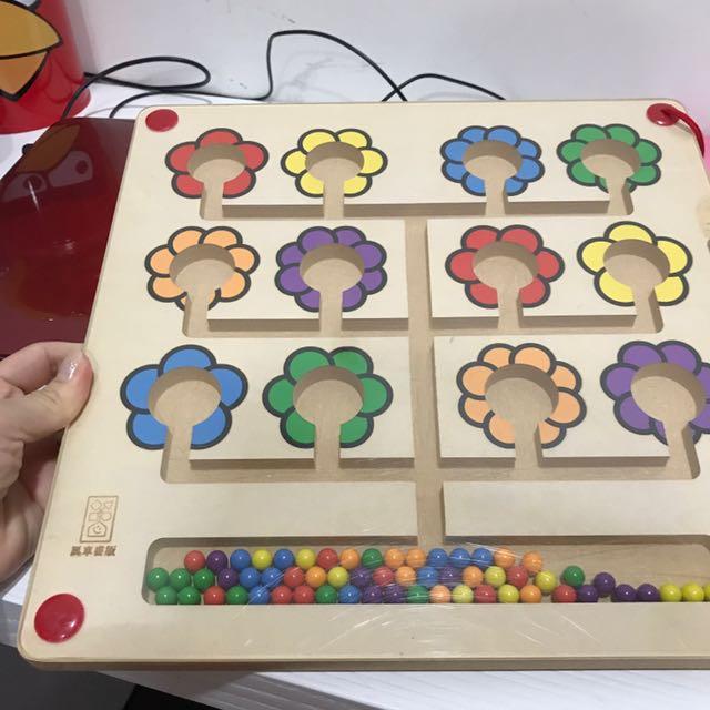 幼兒顏色認知學習玩具