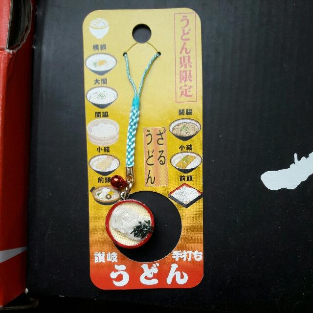 日本原裝拉麵手機吊飾