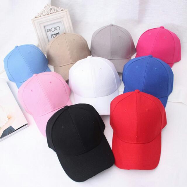 帽子 鴨舌帽 天藍 素色帽子 #好物任你換