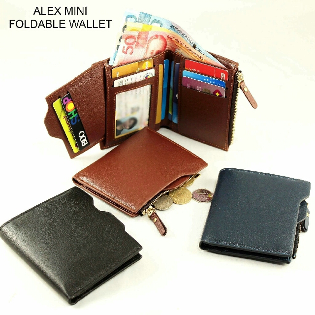 Alex Mini Foldable Wallet