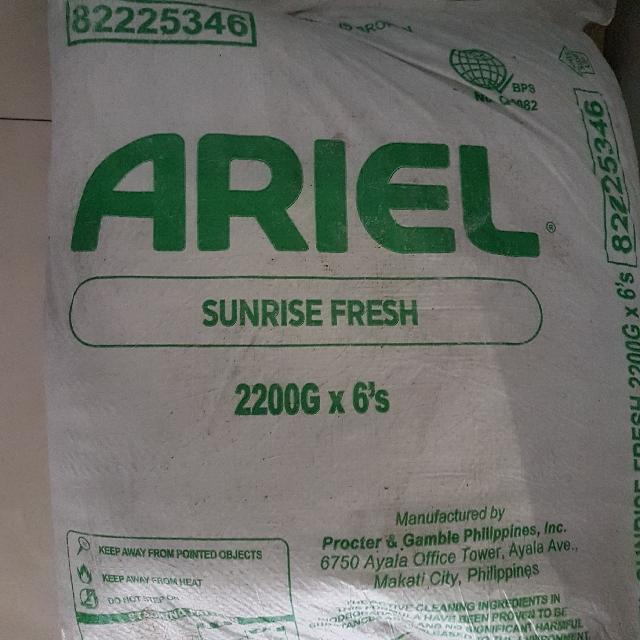 Ariel Laundry Powder
