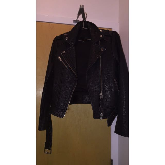 Aritzia Mackage Rumer Leather Jacket
